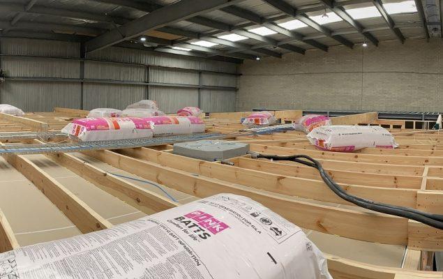 Hassam Builders Commercial warehouse
